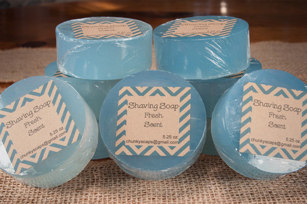 Handcrafted Fresh Scent Shaving Soap