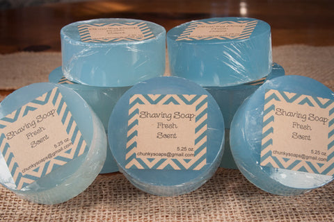 Fresh Scent Shaving Soap (5.25 oz.)