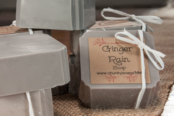 Ginger Rain Handcrafted Soap