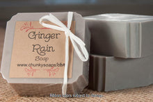 Load image into Gallery viewer, Ginger Rain Handcrafted Soap