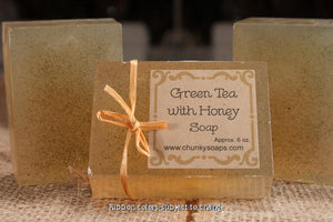 Green Tea with Honey Handcrafted Soap