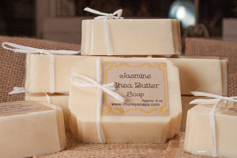 Jasmine Shea Butter Soap (6 oz.)