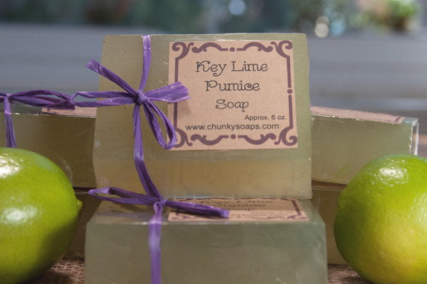 Handcrafted Key Lime Pumice Soap