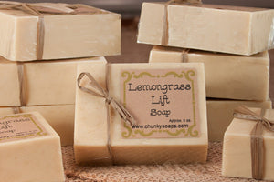 Lemongrass Natural Soap