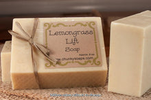 Load image into Gallery viewer, Lemongrass Natural Soap