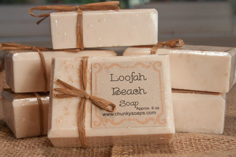 *Loofah Beach Soap (6 oz.)