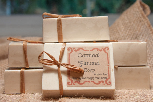 Oatmeal Almond Handcrafted Soap
