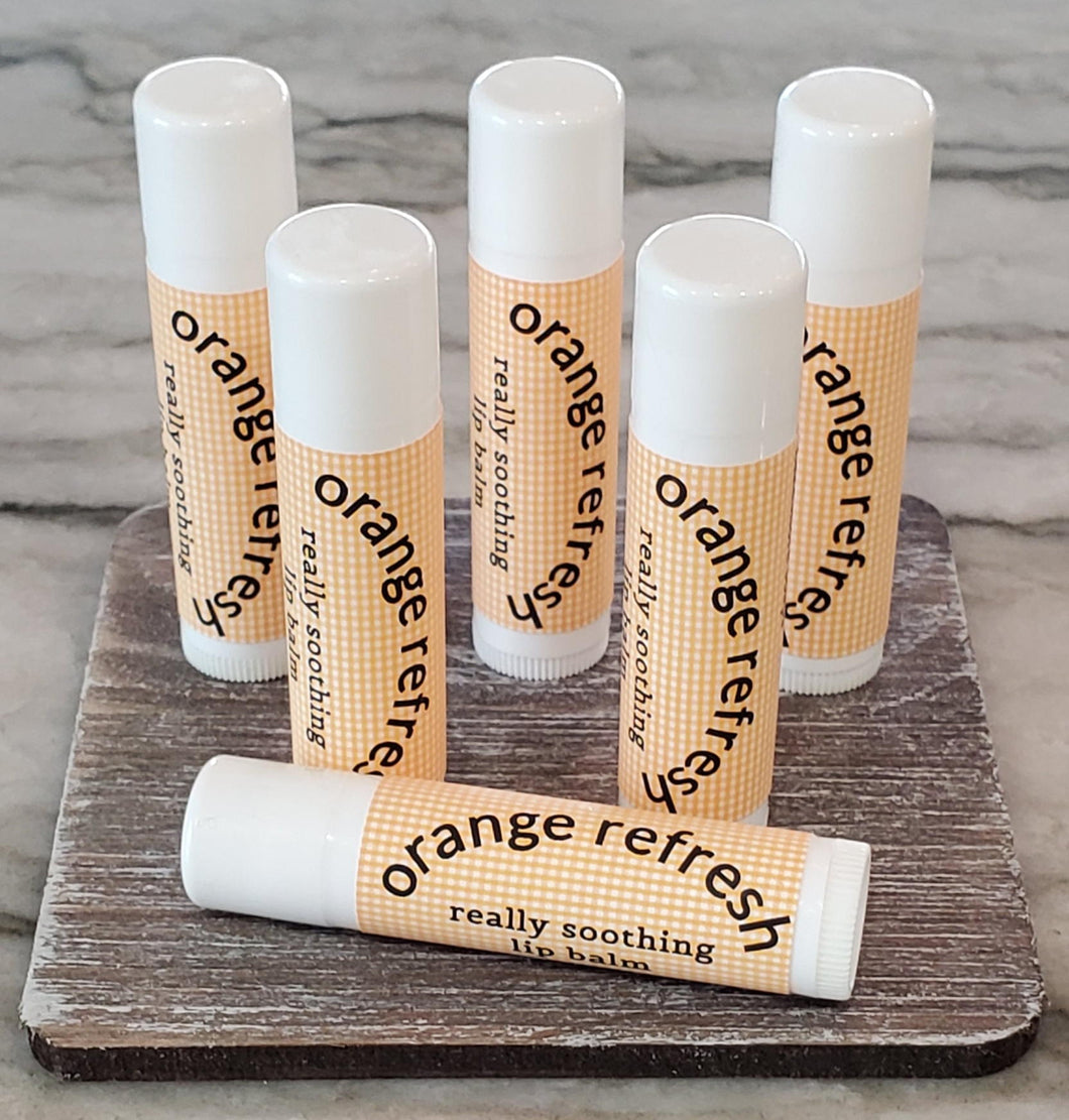 Orange Refresh Lip Balm