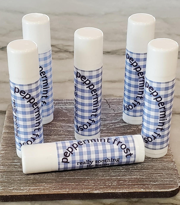 Peppermint Frost Lip Balm