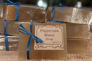 Peppermint Blend Handcrafted Soap