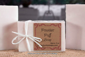 Powder Puff Handcrafted Soap