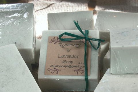 Rosemary & Lavender Soap (5.5 oz.)