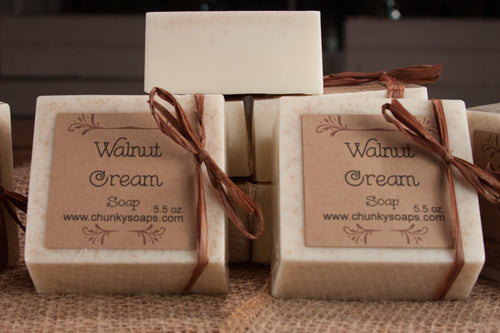 Walnut Cream Handcrafted Soap