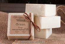 Load image into Gallery viewer, Walnut Cream Handcrafted Soap