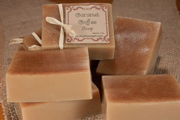 Caramel Coffee Handcrafted Soap