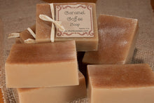 Load image into Gallery viewer, Caramel Coffee Handcrafted Soap