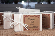 Load image into Gallery viewer, Powder Puff Handcrafted Soap