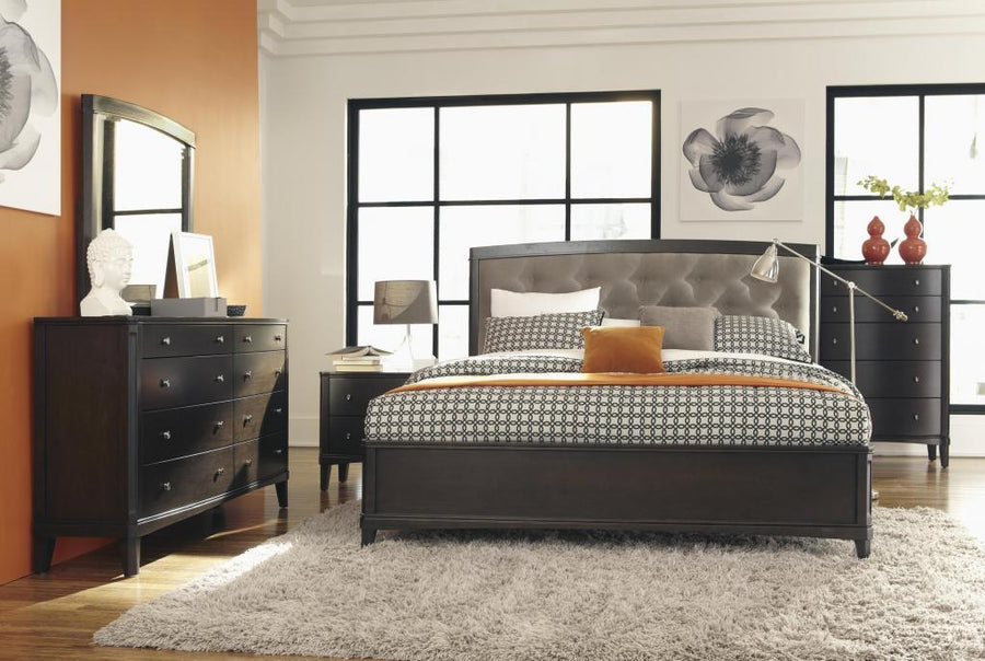 Viola 4pc King Bedroom Set