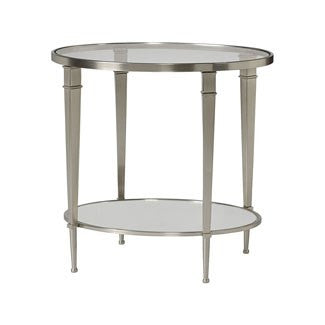 Capri Oval End Table - Huffman Koos Furniture