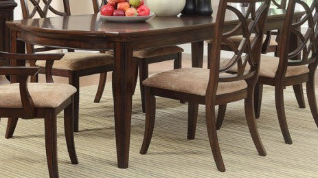 Dining Room, Appleton Rectangular Dining Table - Rich Brown Cherry : Huffman Koos Furniture