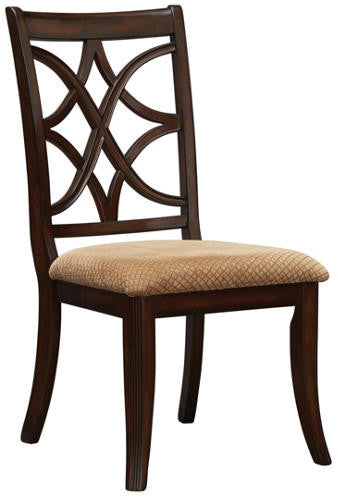Appleton Side Chair - Rich Brown Cherry - Huffman Koos Furniture