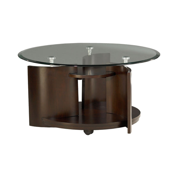 Lucy Round Cocktail Table - Huffman Koos Furniture
