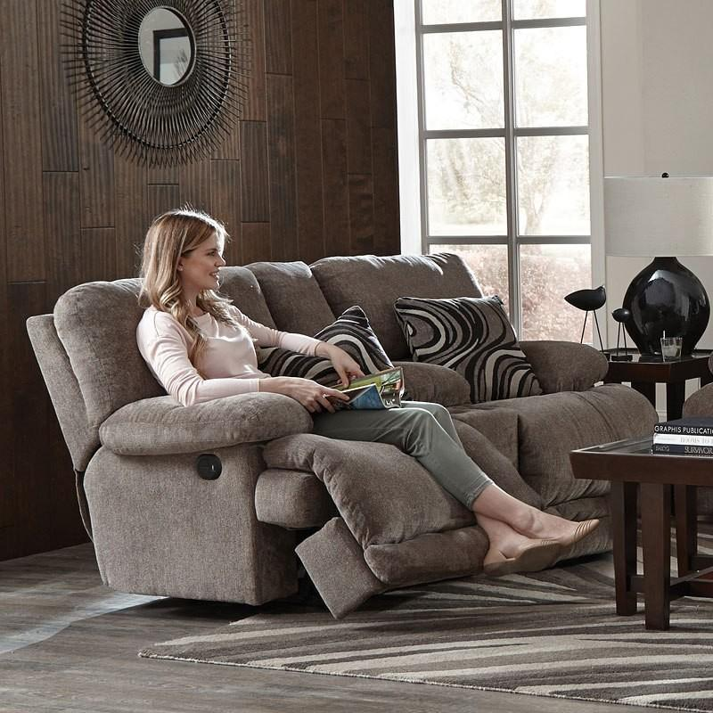 Alexa Power Reclining Loveseat With Console
