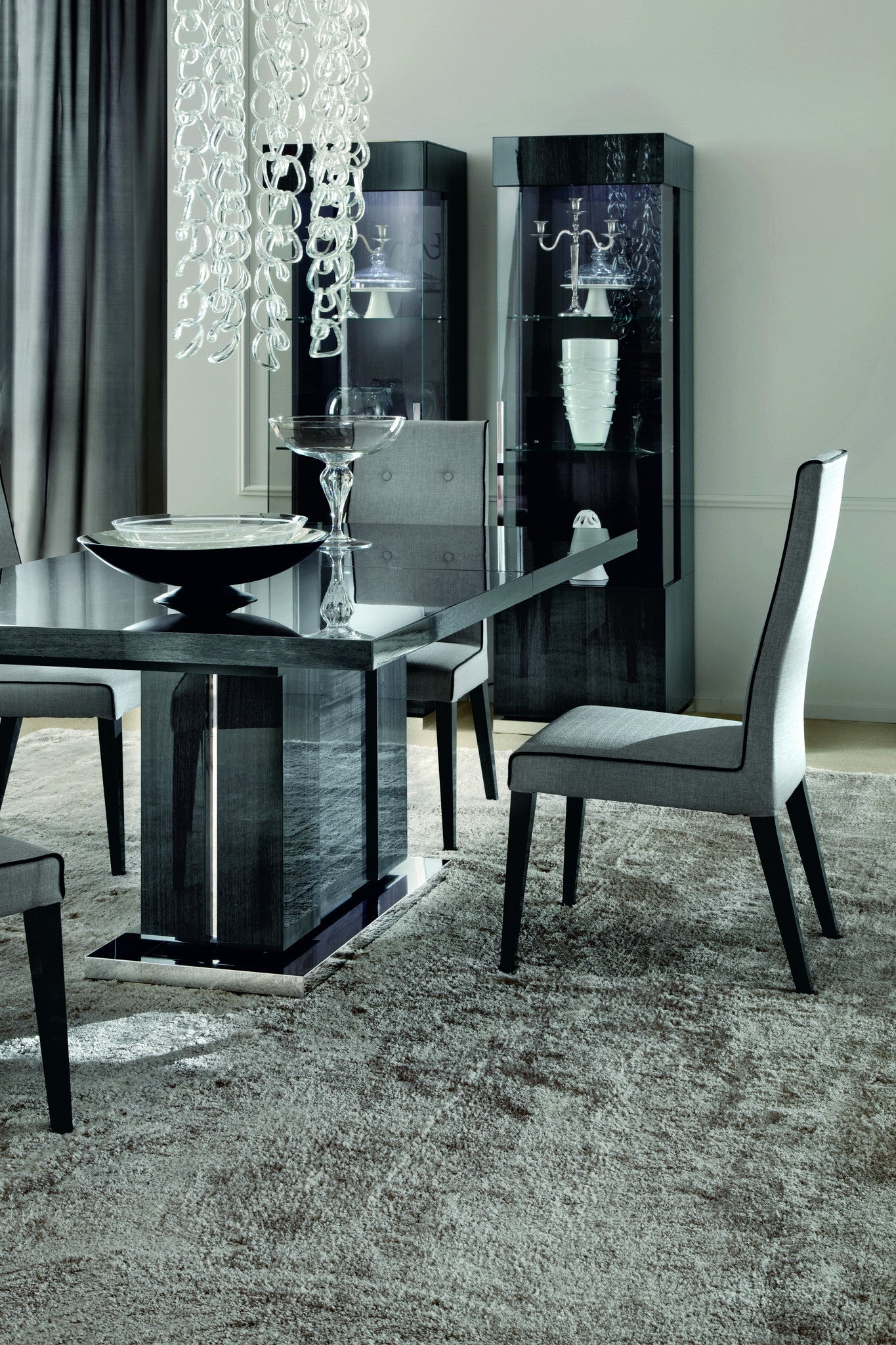Bon Dining Room, Soprano 5 Piece Dining Room Set : Huffman Koos Furniture ...