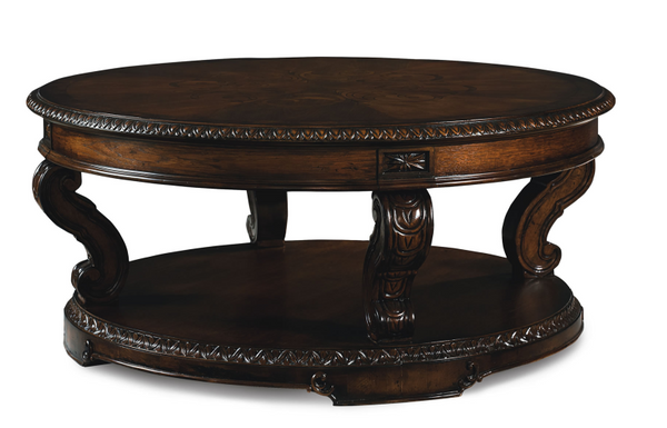 Europe Round Cocktail Table - Huffman Koos Furniture