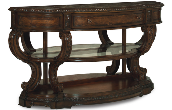 Europe Console Table - Huffman Koos Furniture