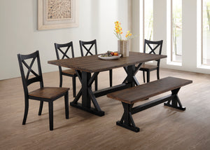 Lexie 6pc Dining Room Set