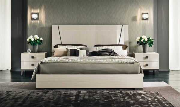 Vega King Bed - Huffman Koos Furniture