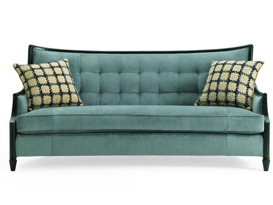 Sofas, Anette Blue Sofa : Huffman Koos Furniture