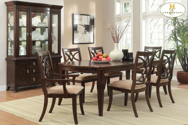 Appleton Eight Piece Dining Set - Huffman Koos Furniture