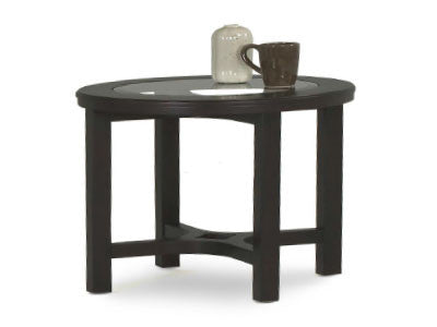 Artisian Round End Table - Huffman Koos Furniture