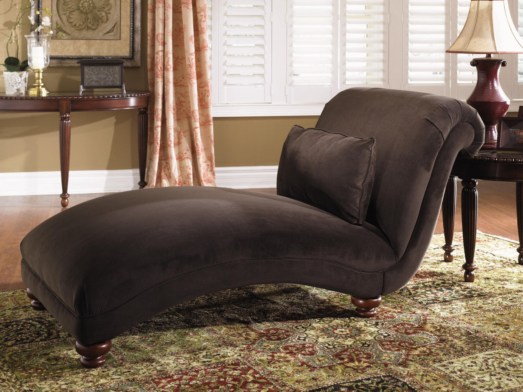 belshire armless chaise  huffman koos furniture -