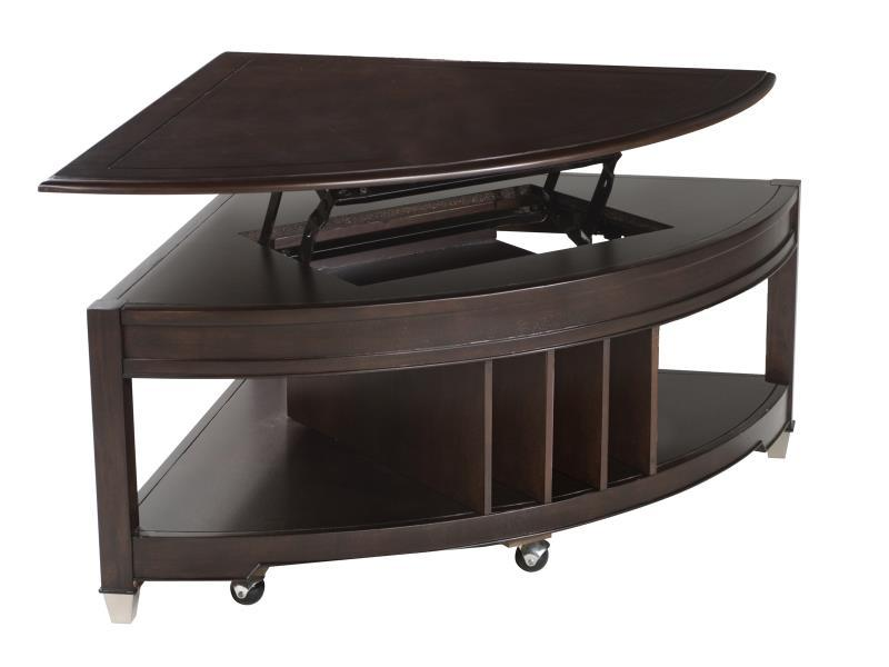 Carson Pie Shape Cocktail Table