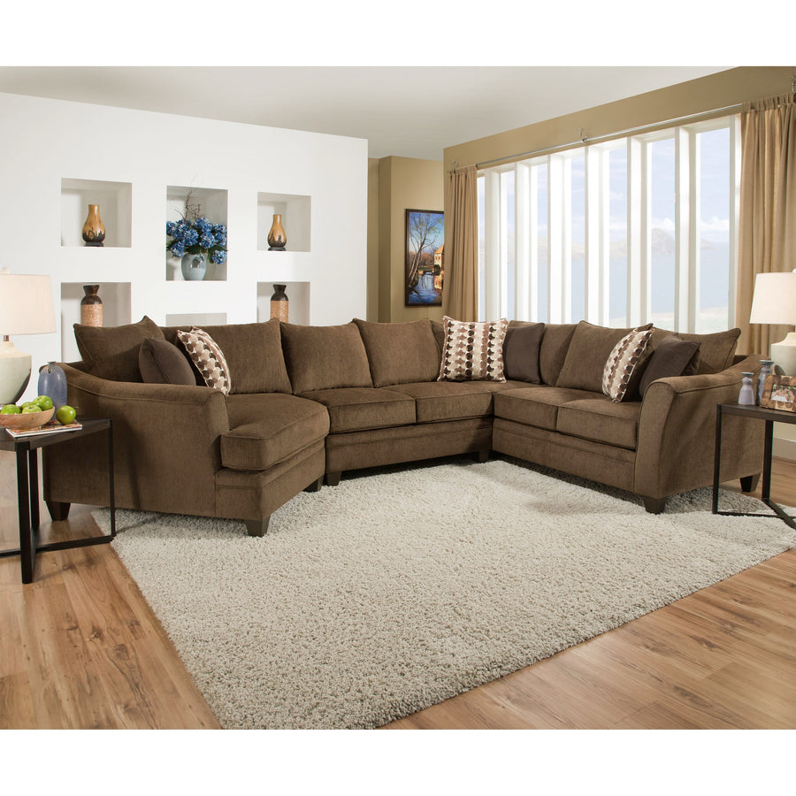 Chloe 3 Piece Sectional