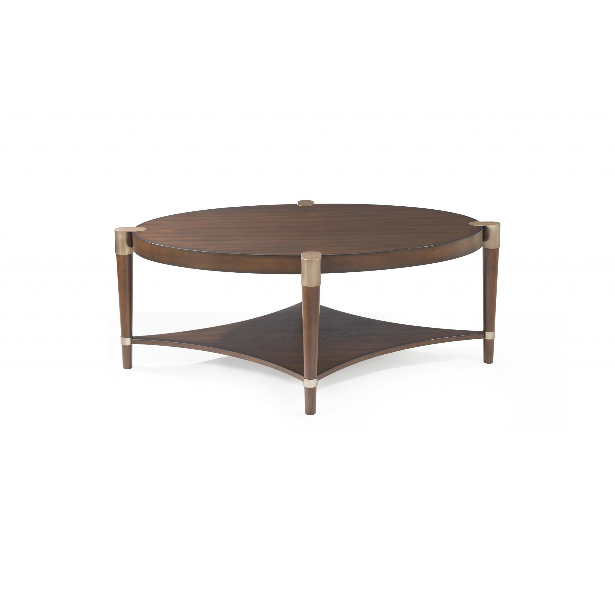 Colton Oval Cocktail Table Huffman Koos Furniture - Colton coffee table
