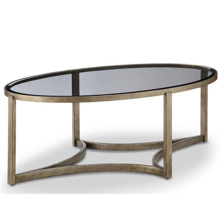 Delta Oval Cocktail Table