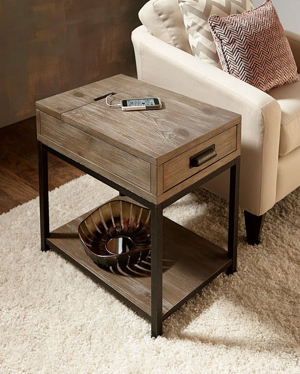 Picasso Charging End Table