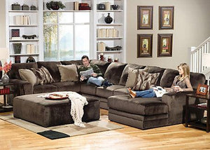 Sectionals, Josephine Sectional : Huffman Koos Furniture