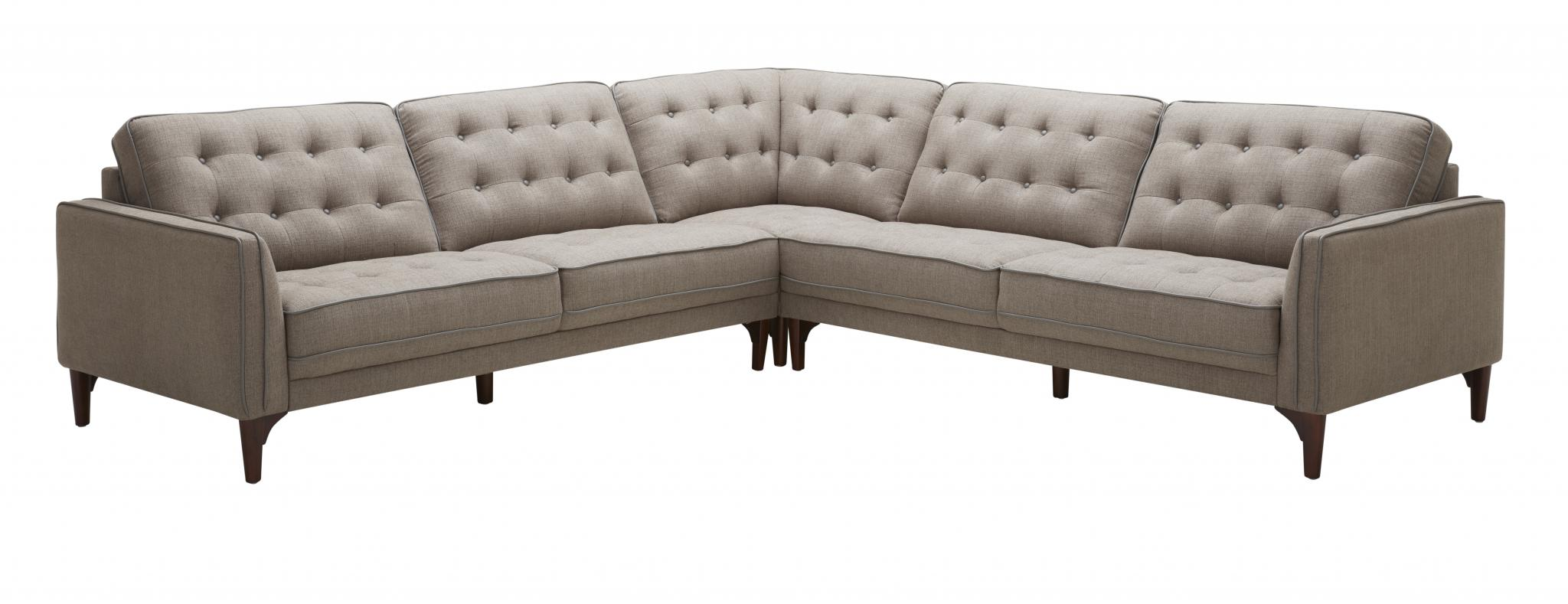 Gentil Sectionals, Joyce 3pc Sectional : Huffman Koos Furniture ...