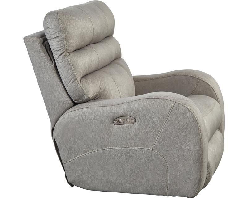 Recliners, Kasey PWR Recliner with PWR Headrest : Huffman Koos Furniture