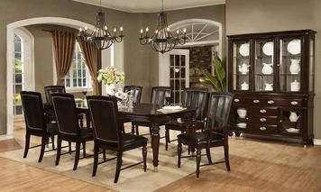 Dining Room, Park Avenue Side chair : Huffman Koos Furniture