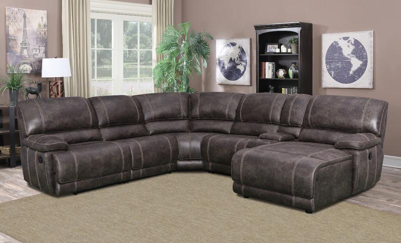 Sectionals, Quincy 7PC Sectional : Huffman Koos Furniture