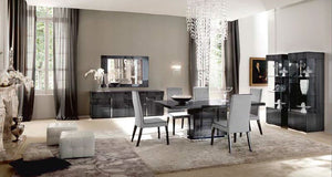 Dining Room, Soprano 8 Piece Dining Room Set : Huffman Koos Furniture