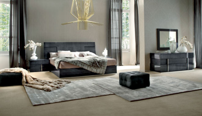 ... Beds, Soprano 5 Piece Queen Bedroom Set : Huffman Koos Furniture ...