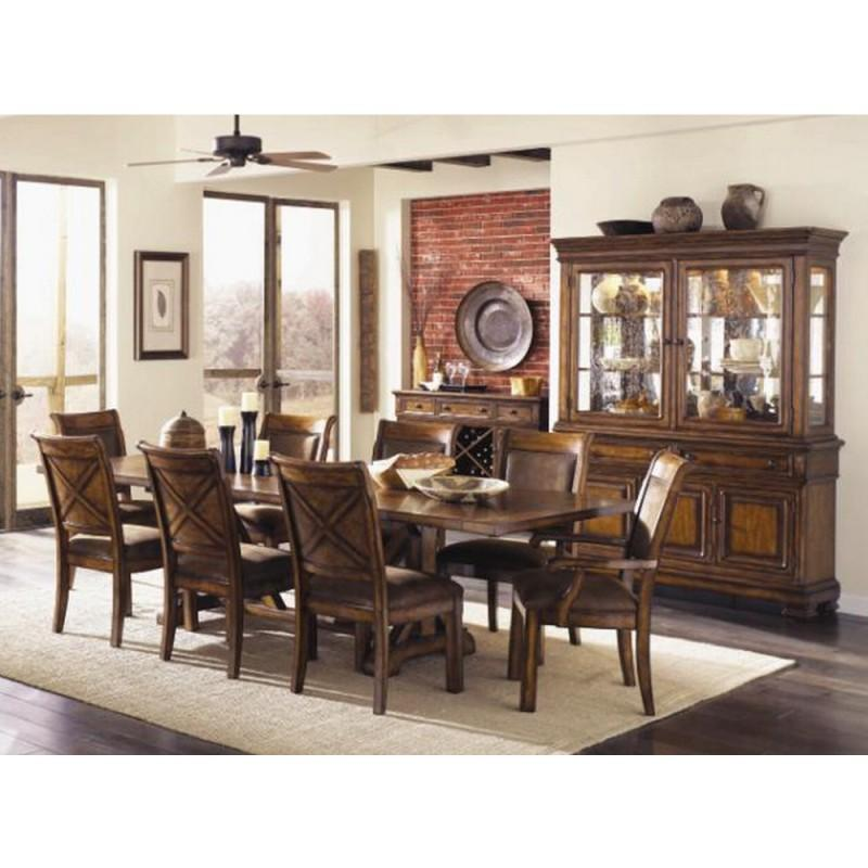 Dining Room, Suede Dining Room : Huffman Koos Furniture