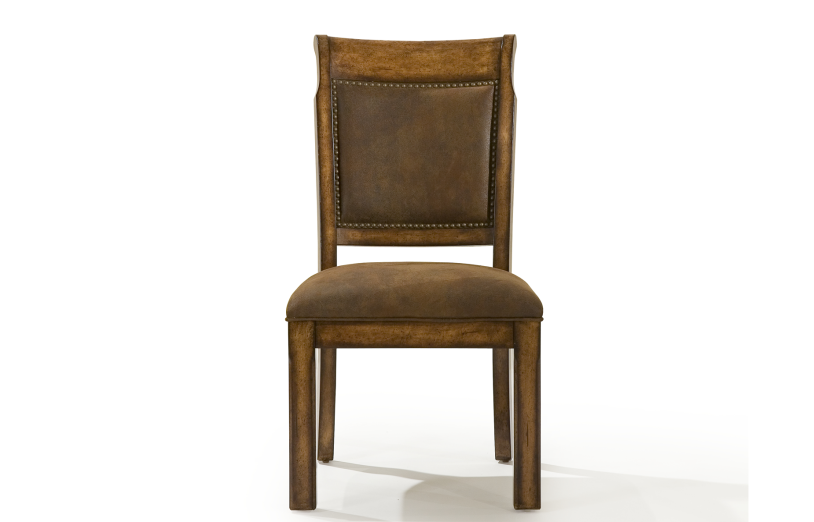 Dining Room, Suede Side Chair : Huffman Koos Furniture
